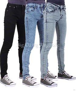 peviani-Hommes-Garcons-Designer-COUPE-Hyper-Skinny-etoile-Jeans