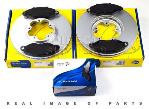 FRONT BRAKE SET DISCS /& PADS FOR FORD TRANSIT 2.0 DI TDCi 2.3 ADB31107 ADC1214V