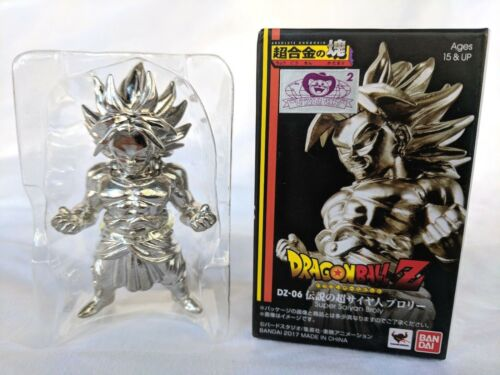 Bandai Dragon Ball Z Super Saiyan 2 Broly Absolute Chogokin Metal Mini Figure