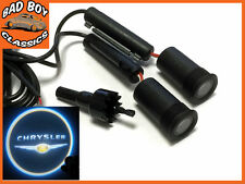 5w Cree LED Logo Projector Puddle Courtesy Ghost Lights For CHRYSLER