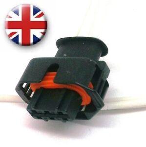Fuel rail pressure sensor plug 19 Vauxhall Vivaro Renault Trafic