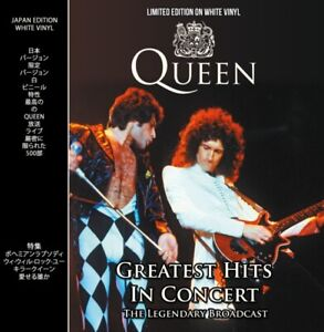 Queen-Greatest-Hits-In-Concert-WHITE-VINYL-LP-CPLVNY336-NEW-UK-Stock-Gift-Idea