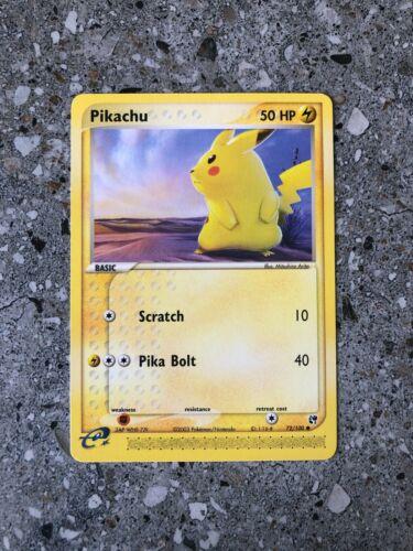 Pokemon TCG Cards Pikachu 72//100 Sandstorm NM-M