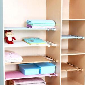 Image Is Loading Tension Closet Organizer Shelf Adjule Storage Rack Clothes