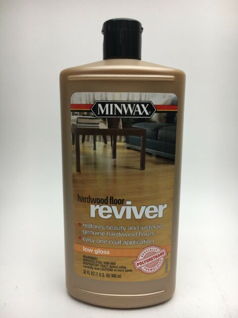 Minwax Low Gloss Hardwood Floor Reviver Liquid 32oz New No Seal