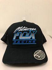 Fox Racing Motocross MX SX Jetskee 110 Snapback Baseball Cap Hat Black OS  NEW 6746546a4af