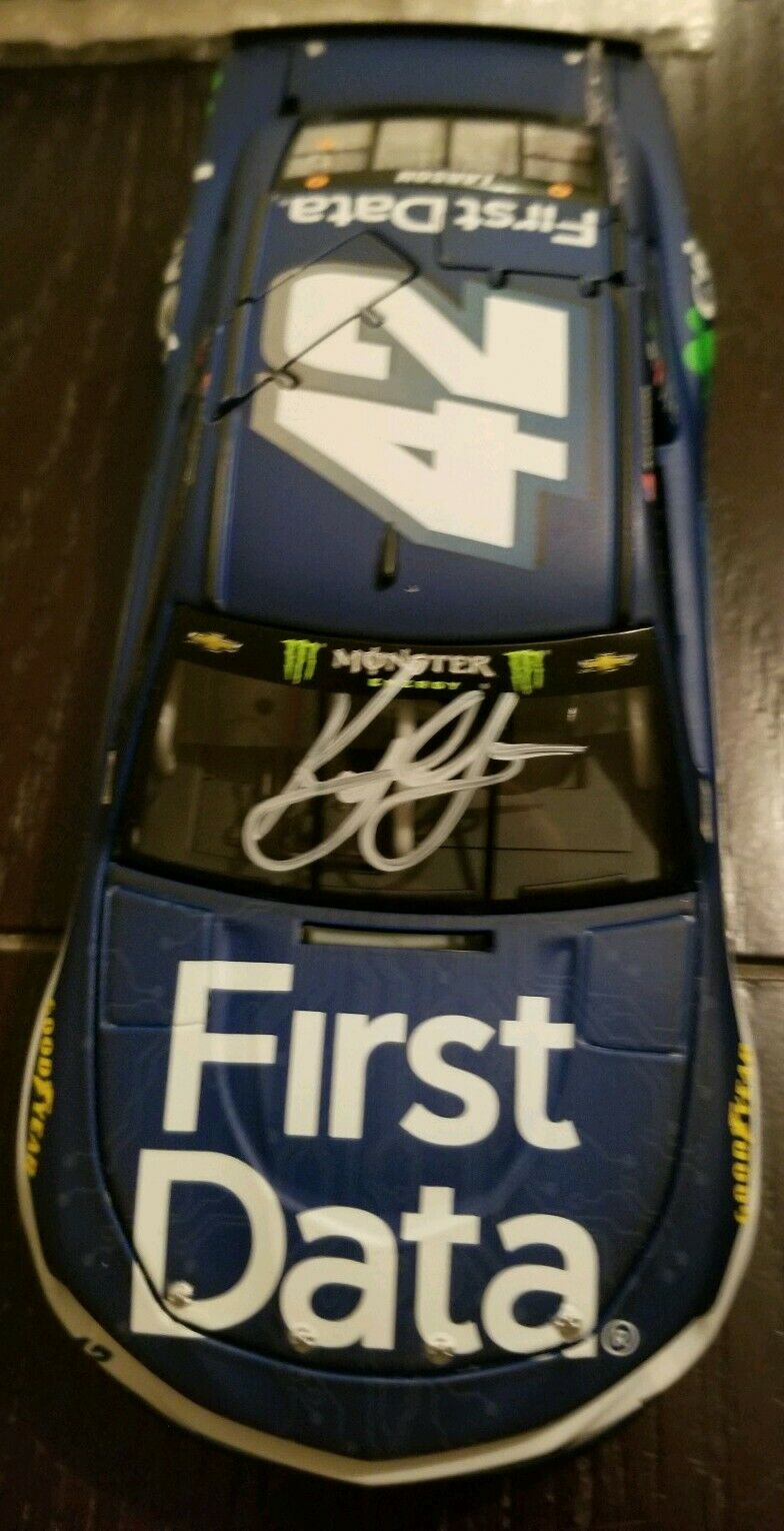 2018 Kyle Larson First Data 1 24 Autographed
