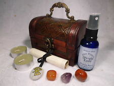 WEIGHT LOSS RITUAL CHEST spell kit wicca wiccan pagan magic diet health magick