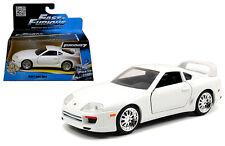 Jada 1/32 Scale Fast & Furious Brians Toyota Supra White Diecast Model 97346