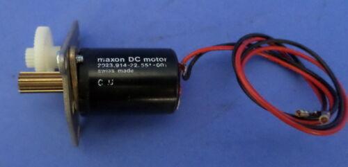 551-000 DC MOTOR NNB *JCH* 2023 MAXON, 914-22