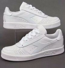 2@M3 Diadora B. Elite In White Borg Elite Tennis 80s Classic Size 8