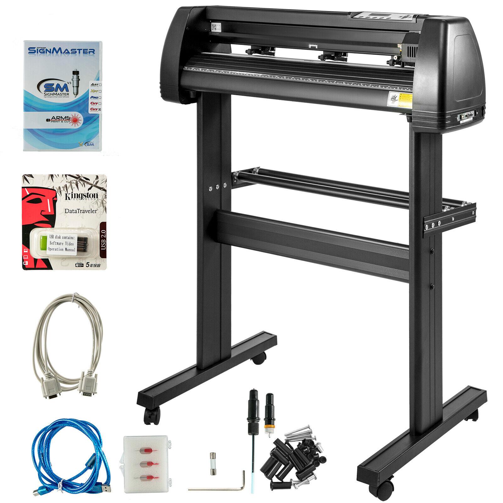 """s l1600 - Plóter de Corte de Vinilo 28"""" 720mm Máquina de Plotter con Escáner Signmaster"""
