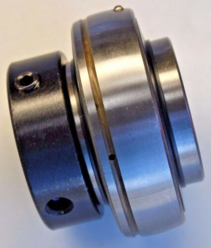 "Premium HC210-31 Insert Bearing 1-15//16/"" Bore w//Locking Collar /& Set Screw"
