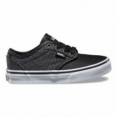 Vans Atwood Deluxe Junior Zapatillas Entrenadores Zapatos de Skate mixto Raven