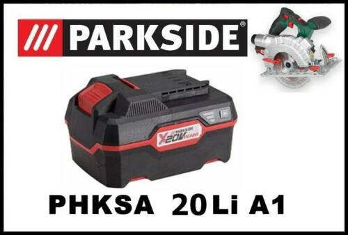 4Ah Bateria Sierra Circular Parkside 20V Li Battery PAP 20 A3 Saw PHKSA 20 Li A1