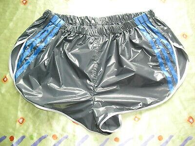 Glanz Shorts Shiny nylon Sprinter Running Racer Vintage Sporthose Neu Gr.S-5XL