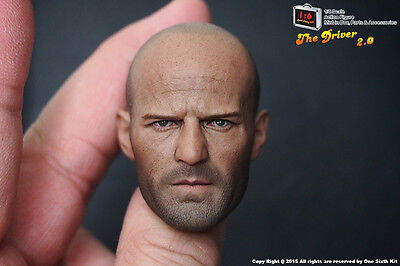 One Sixth Kit Custom 1/6 Scale Jason Statham 2.0 Head Sculpt For Hot Toys Body