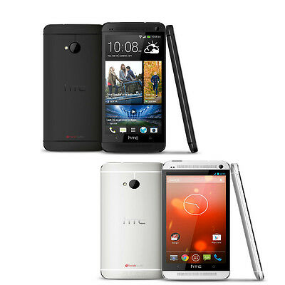 HTC ONE GSM AT&T Unlocked FREE SIM 32GB LTE Beat Audio 4G Phone RB