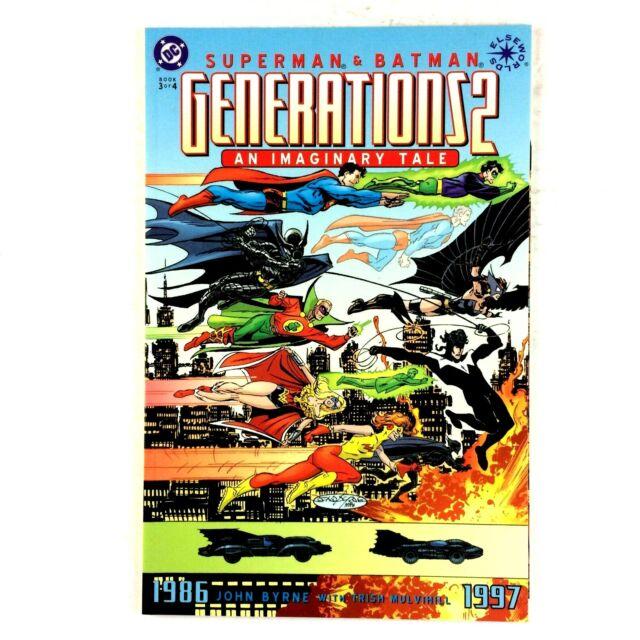 Superman & Batman Generations 2 #3 DC 2001 NM Wonder Woman Flash Green Lantern