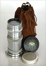 CONTAX ZEISS SONNAR 4/135mm LENS EXPORT MODEL CAPS MINT