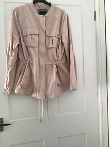 Principles-Size-14-Dusty-Pink-Cotton-Long-sleeve-4-Pocket-Fly-Front-Zip