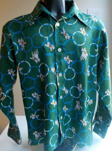 """VINTAGE EXPRESSIONS BY CAMPUS Long Sleeved """"Horse"""""""