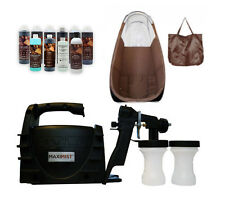 MAXIMIST XLSE CLASSIC SPRAY TAN UNIT w,TBT TAN SPRAY & BROWN TENT
