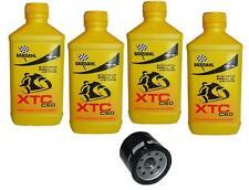 Kit Tagliando 4lt Bardahl XTC 10W40 Filtro Olio 204 YAMAHA 689 MT 07 2013/2016
