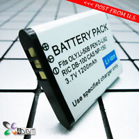 Li-50b Li50b Battery For Olympus Stylus Tough Tg-630 830 835 850 860 870 Ihs