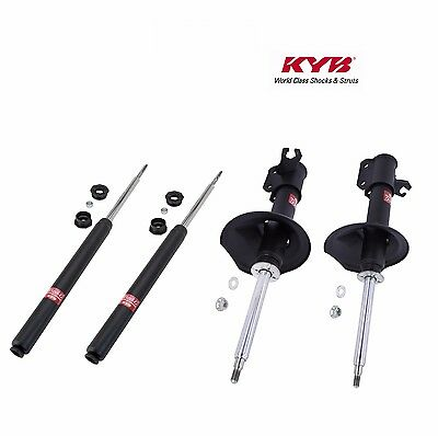 KYB 4 Excel-G Front /& Rear Suspension Struts for Nissan Maxima 85-88