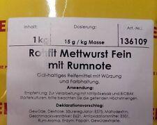 Wiberg Rohfit Mettwurst Fein mit Rumnote, 1 kg, Gewürz, Gewürze