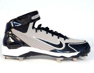Nike Air Gray Shoes Softball Cleats Huarache Baseball 90 Metal Lwp x6FPx7wv