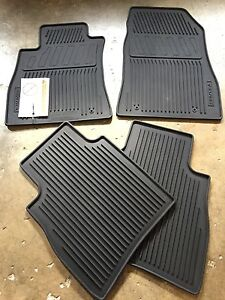 New Oem 2014 2017 Nissan Sentra 4 Pc All Weather Rubber