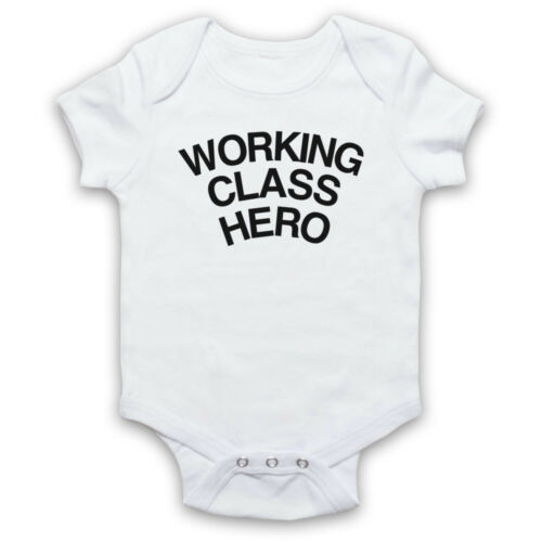 JOHN LENNON HERO UNOFFICIAL WORKING CLASS AS WORN BY BABY GROW BABYGROW GIFT