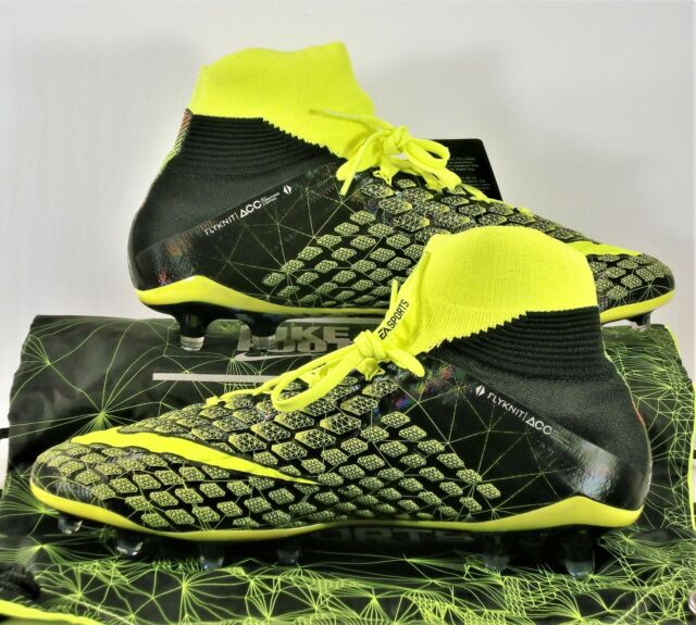 cb524f7fb07d Nike Hypervenom Phantom 3 DF SE FG EA Sports FIFA 18 Volt 882008 700 Sz 8.5  for sale online   eBay