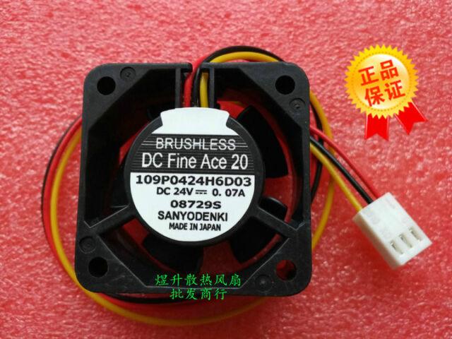 for Sanyo 9WF0424F6D03 24V 0.076A 4CM Original Waterproof Fanuc Fan