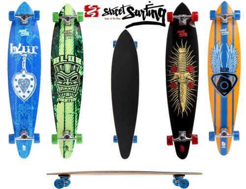Streesurfing Longboard Complet Blur skateboard ORIGINAL NEUF