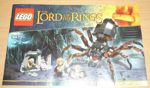 Lego Lord of the Rings Building Plan for 9470 only Instruction