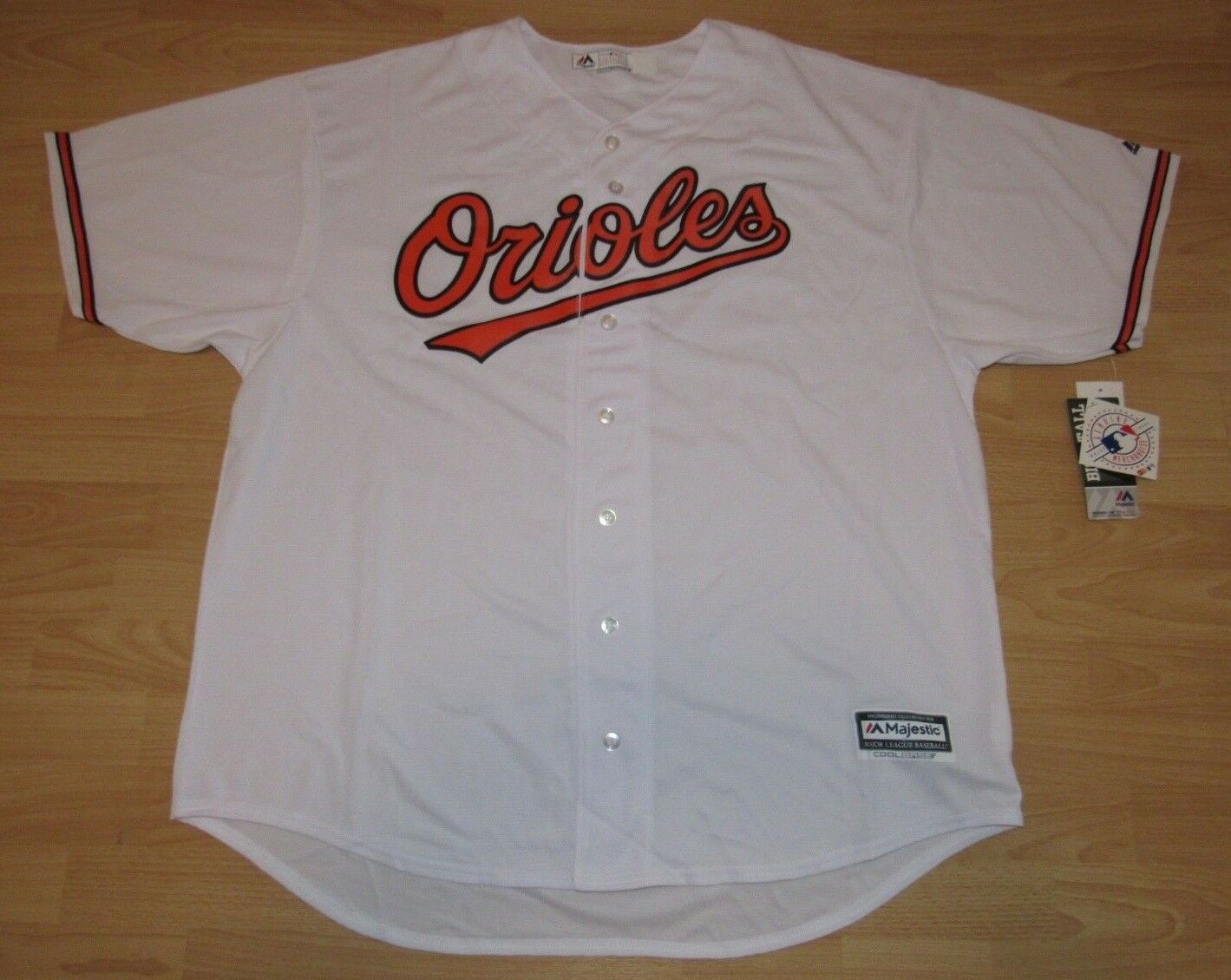 Majestic Baltimore Orioles Coolbase Home Jersey Men's Size 4XL