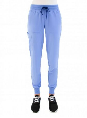 Details about  /Maevn Jogger Scrub Pants Women/'s Size XS Petite Ceil Blue Brand New with Tags