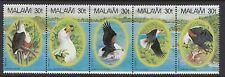 BIRDS :MALAWI 1983 African Fish Eagle set SG 674-8  never-hinged mint