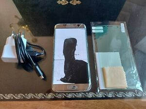 Samsung Galaxy S7 edge SM-G935F - 32 Go - Argent (Désimlocké)