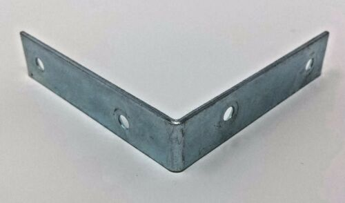 Chair Brackets 80mm x 80mm support shelf D005 Shaped NEW pack of  4 L