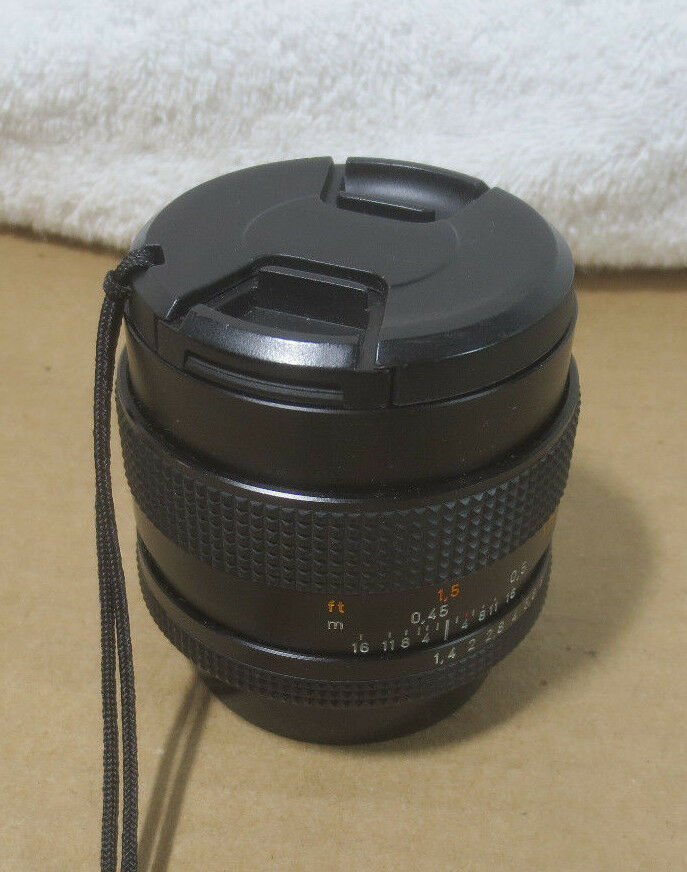 ZEISS Planar T 50mm f 1.7 MF Lens For Contax Yashica   eBay 159e1edbe6