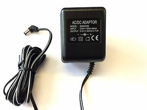 Replacement-Vtech-b090030d-Adaptador-del-Fuente-de-alimentacion-9-0v-300ma
