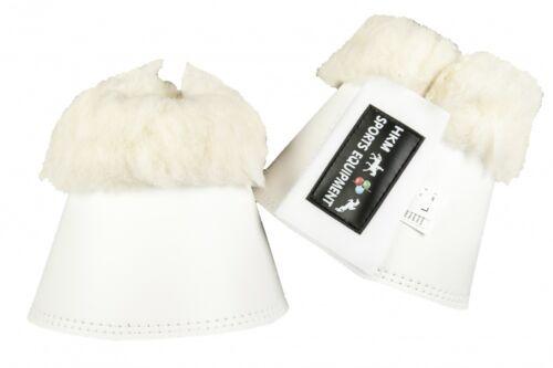 Hufglocken Soft con imbottitura HKM Bianco Nuovo