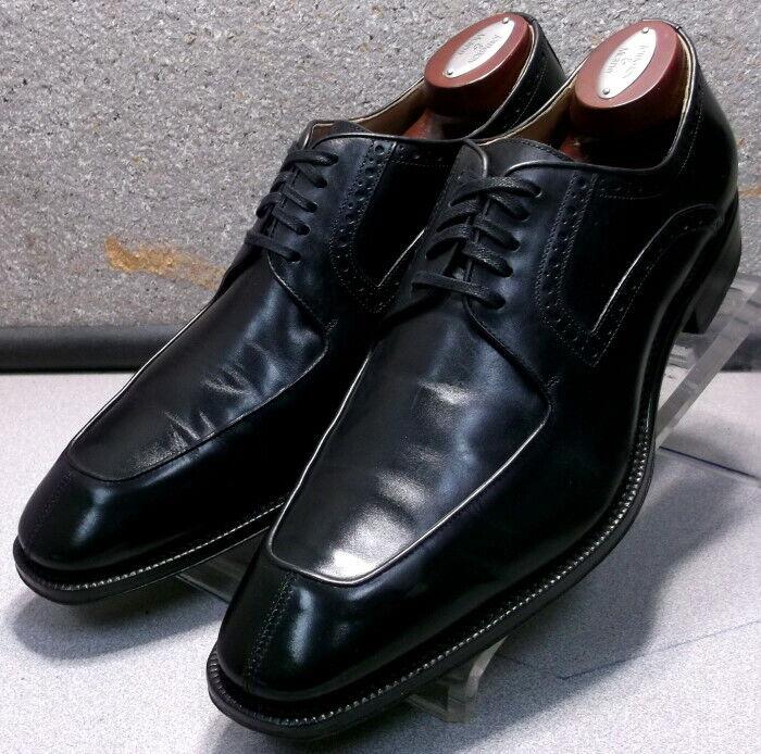 241921 PFi60 Zapatos de hombre M Negro Cuero Hecho en Italia Johnston & Murphy