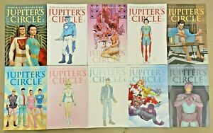 JUPITER'S CIRCLE 1 2 4 5 6 VARIANT COVERS SET MARK MILLAR QUIETLY NETFLIX*