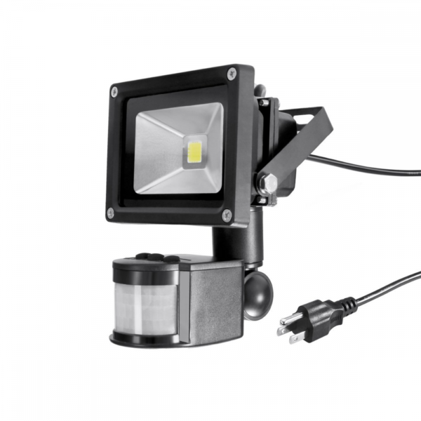 Warmoon Motion Sensor LED Flood Light Waterproof Security