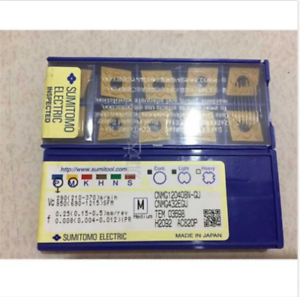SUMITOMO CNMG120408N-UX AC820P CNMG432EUX AC820P CNC carbide inserts 10pcs